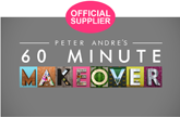 Official supplier to 60 Minute Makeover