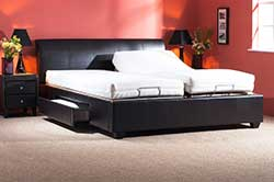 Adjustable Beds Leather