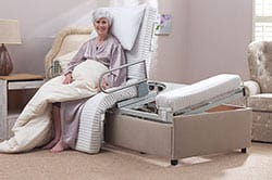 Carers Height Adjustable Beds
