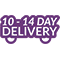 10-14 day delivery - <p>Delivery and set up is 10-14 days from placing your order</p>
