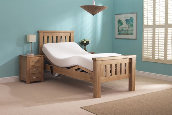 Single Solid Oak Ashby Bed