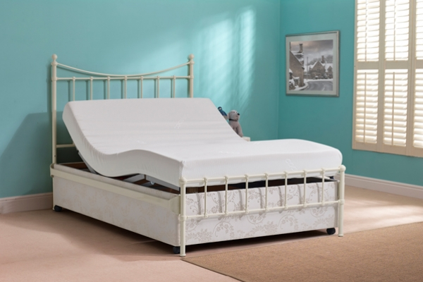 Sandgate Double Adjustable Bed