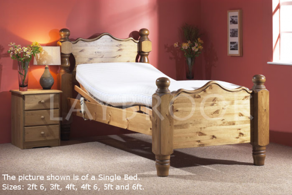 Beeston Pine Adjustable Bed