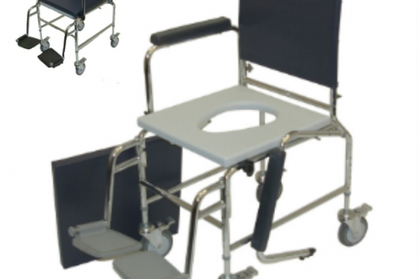 Gowan Mobile Bariatric Commode