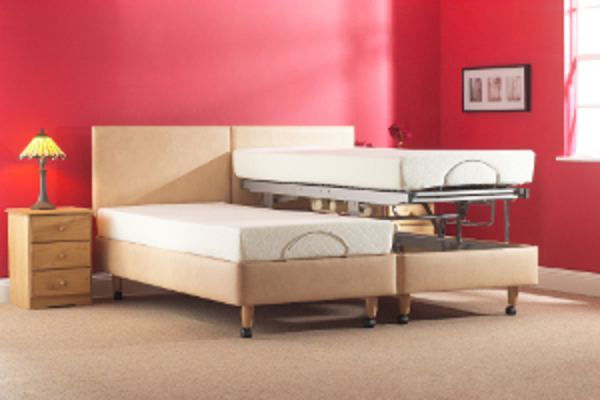 Helston Single Vertical Lifting Carers Bed