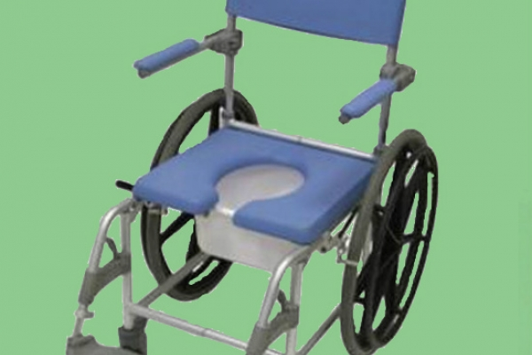 Medway Self Propel Commode