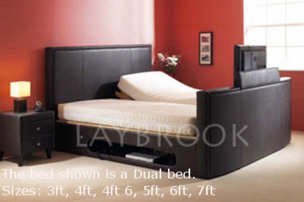 Oxford Adjustable TV Bed