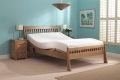 Harlech Double Oak Adjustable Bed