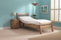 Harlech Single Oak Adjustable Bed