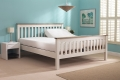 White Huntley Dual Bed