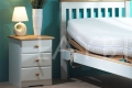 Bedside tables - White