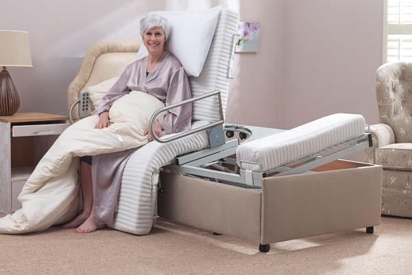 function bed base adjustable with massage premier p